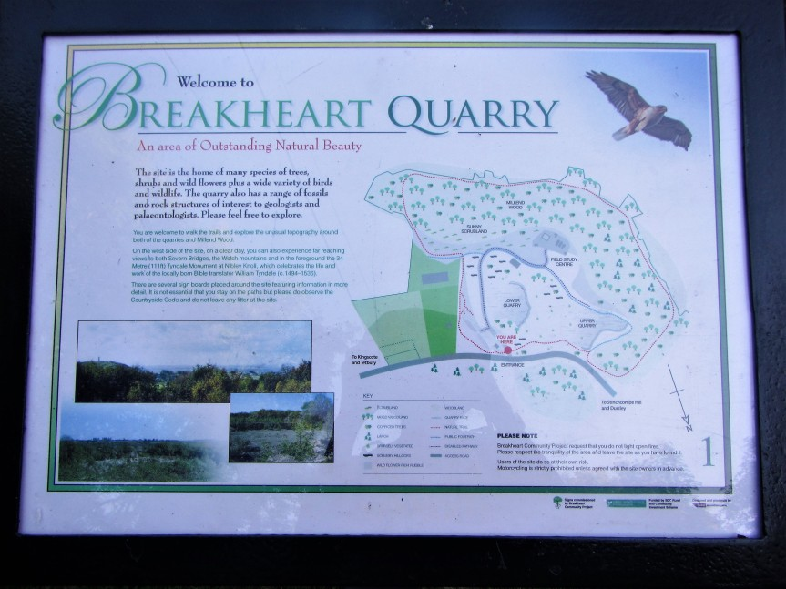 Map of Breakhart Quarry