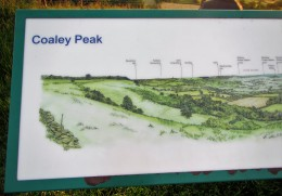 Coaley Peak noticeboard - C Aistrop