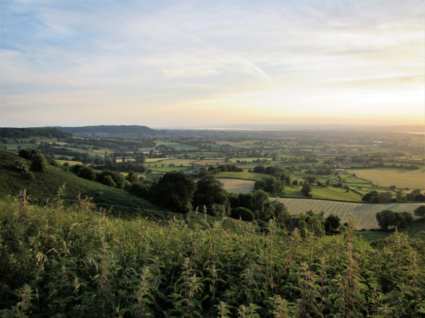 View down Severn Vale from Coaley Peak - C Aistrop