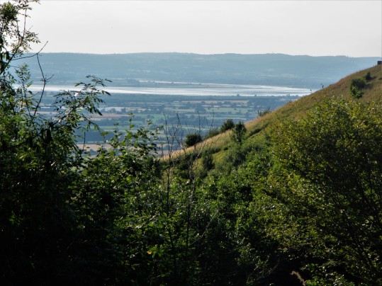 Severn estuary from Coaley Peak. credit: C Aistrop
